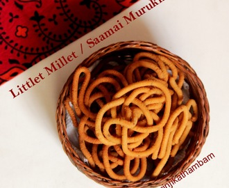 Little Millet / Saamai Murukku | Millet Snacks