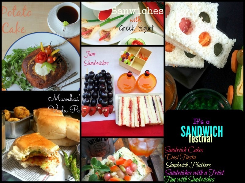 The Sandwich Festival...over 40 Sandwiches ! - Recap of Cooking Carnival 2016