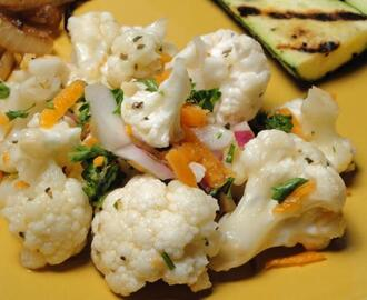 Marinated Cauliflower and Carrot Salad