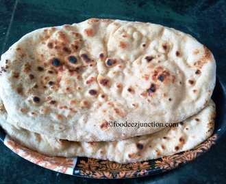 Tawa Butter Naan Recipe | How to Make Butter Naan on Tawa