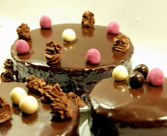 Tartas de chocolate