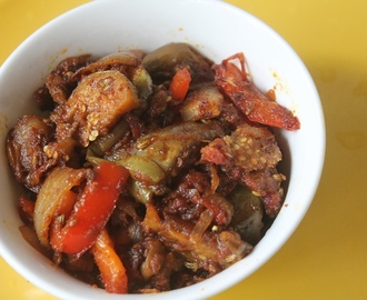 Brinjal Pepper Masala Recipe