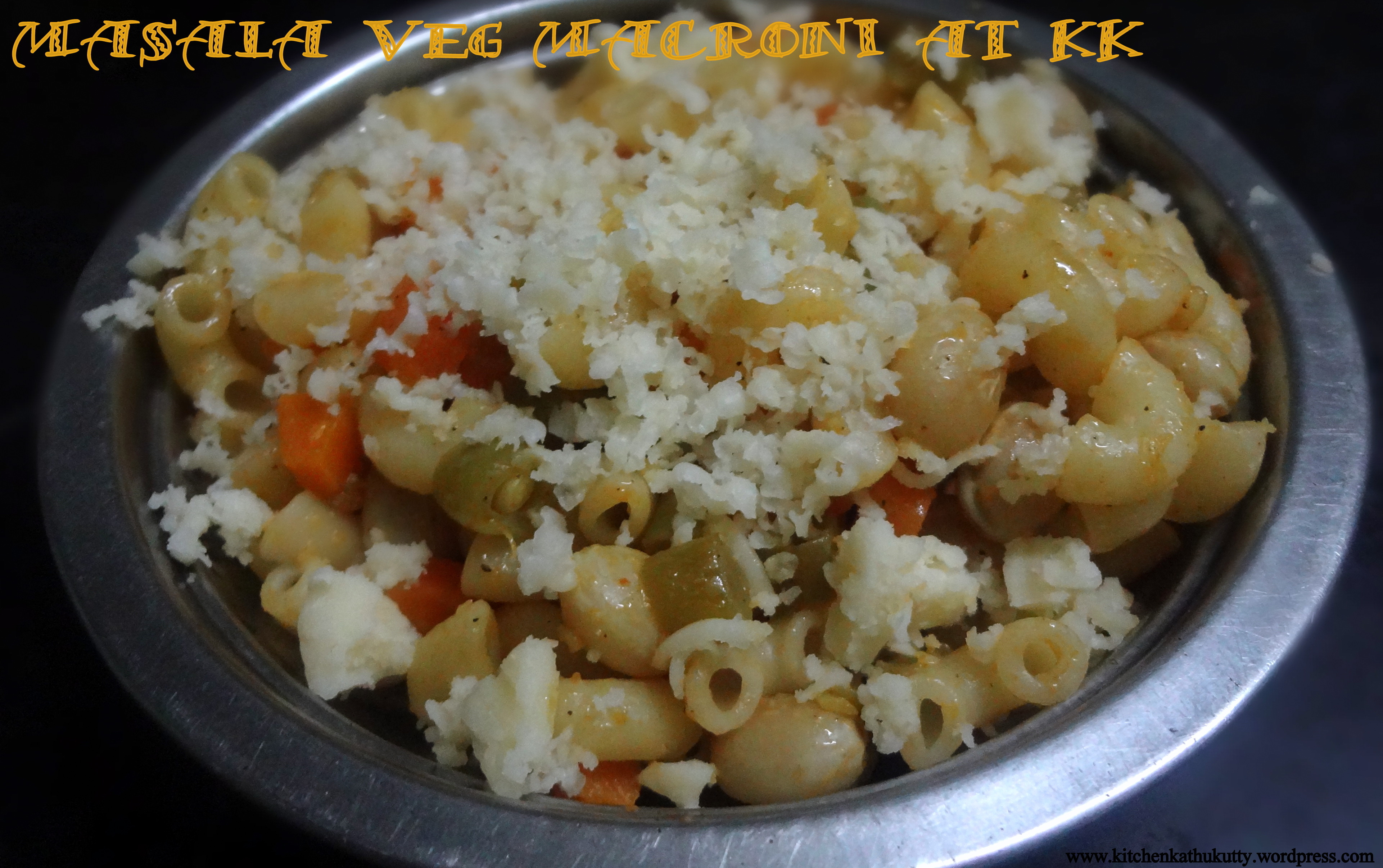 how to make veg pasta at home