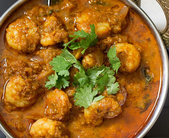 Prawn Coconut Curry | Coconut Shrimp Curry | Indian Prawn Recipes