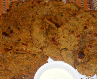 Multigrain thepla (multigrain roti) recipe – Healthy breakfast recipe