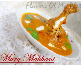 Murg Makhani/ Butter Chicken