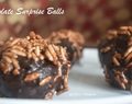 Crispy Chocolate Surprise Balls #FoodieExtravaganza