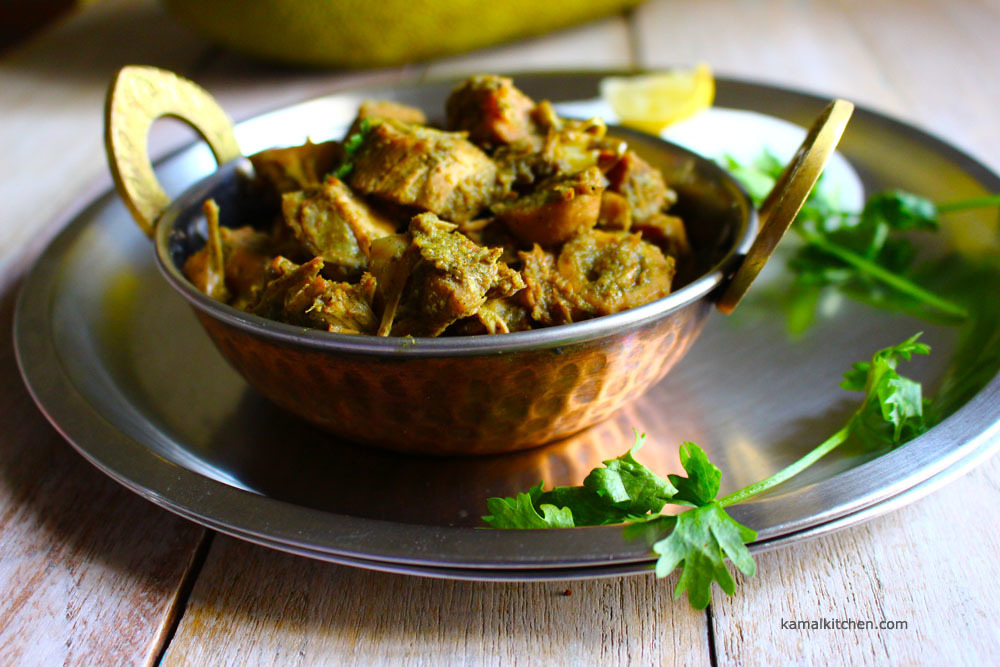 Jackfruit Curry/ Fanas Masala – Summer Vegan Recipe
