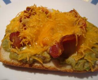Mexican Open Faced Sandwich