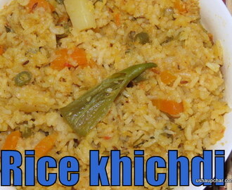 Masala Khichdi with Rice and Moong Dal