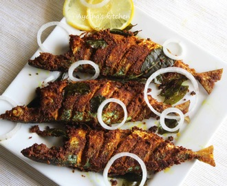 FISH FRY RECIPE - SPICY MACKEREL / AYALA FRY