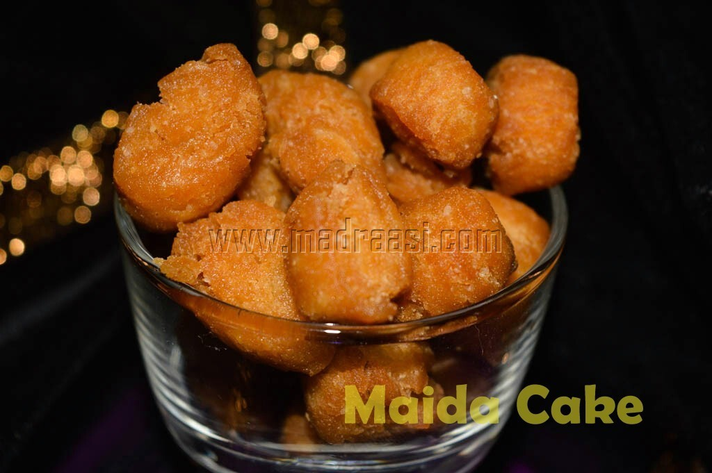 Maida Cake or Maida Biscuits