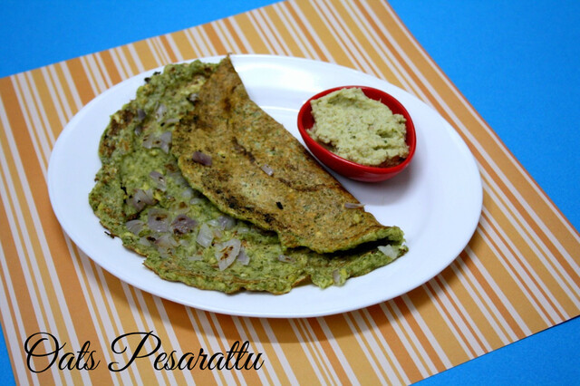 Oats Pesarattu | How to make Oats Moong Dal Dosa ~ 101 Dosa Varieties!