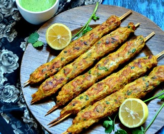 Chicken Seekh Kabab | Minced Chicken Recipe | Chicken Kebab recipe