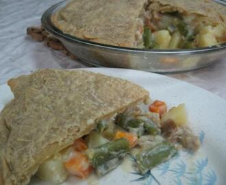 Vegetable Pot Pie (Vegan)