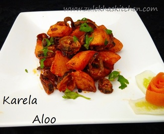 Recipe of karela aloo | bitter gourd with potatoes