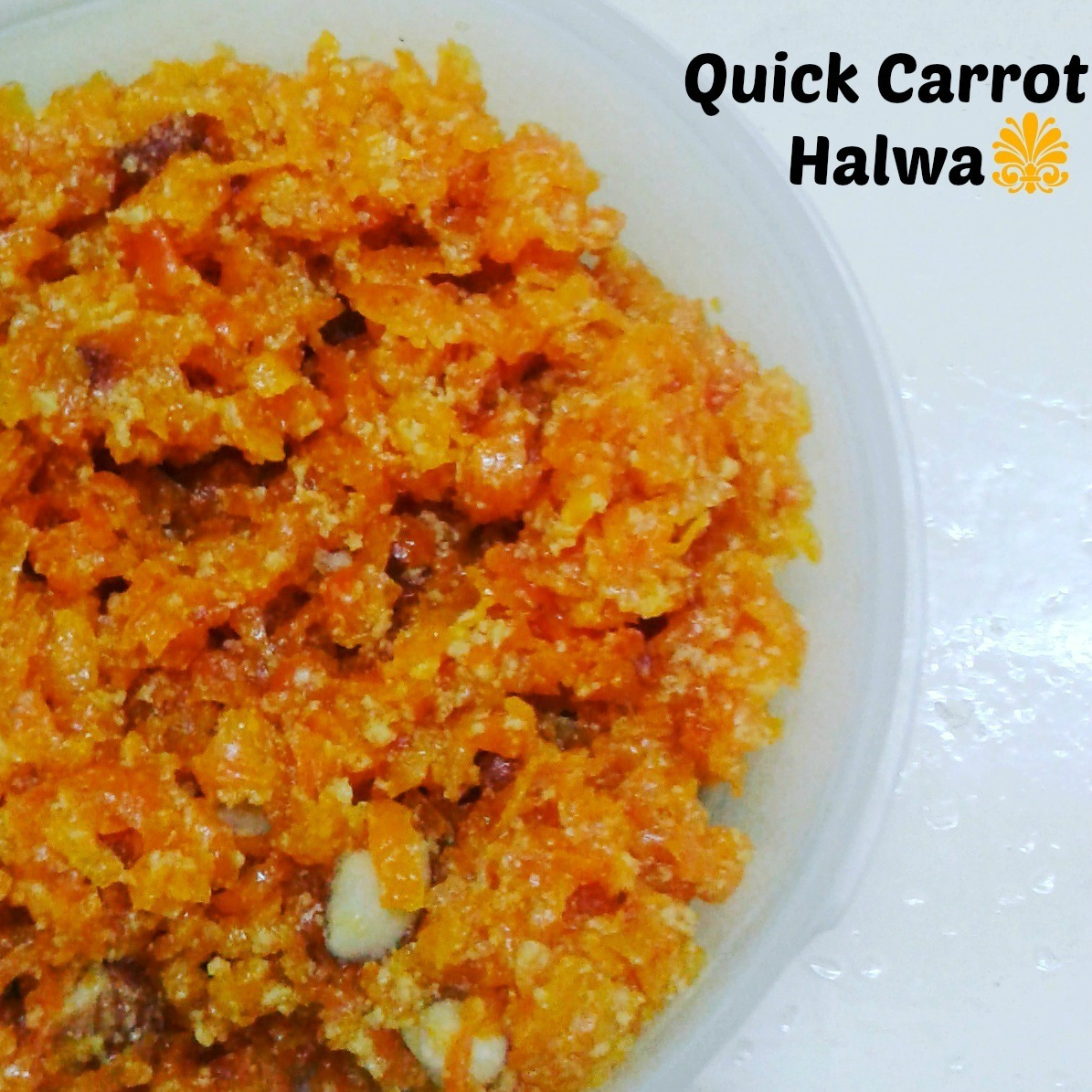 Quick Gajar Halwa | How to quickly make Carrot Halwa in Pressure Cooker