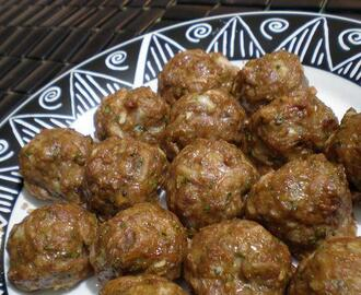 Twisted Beef Koftas (Middle-Eastern Meatballs)