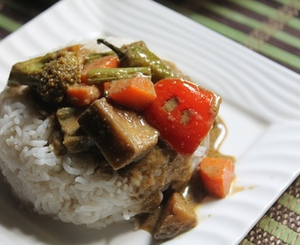 Thai Veg Green Curry Recipe - Thai Green Curry with Vegetables