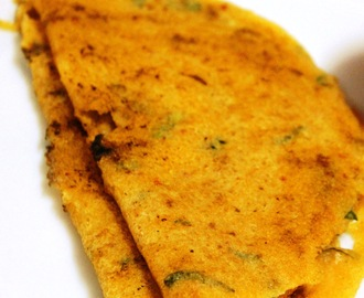 Sweet Corn Spicy Dosa / Adai