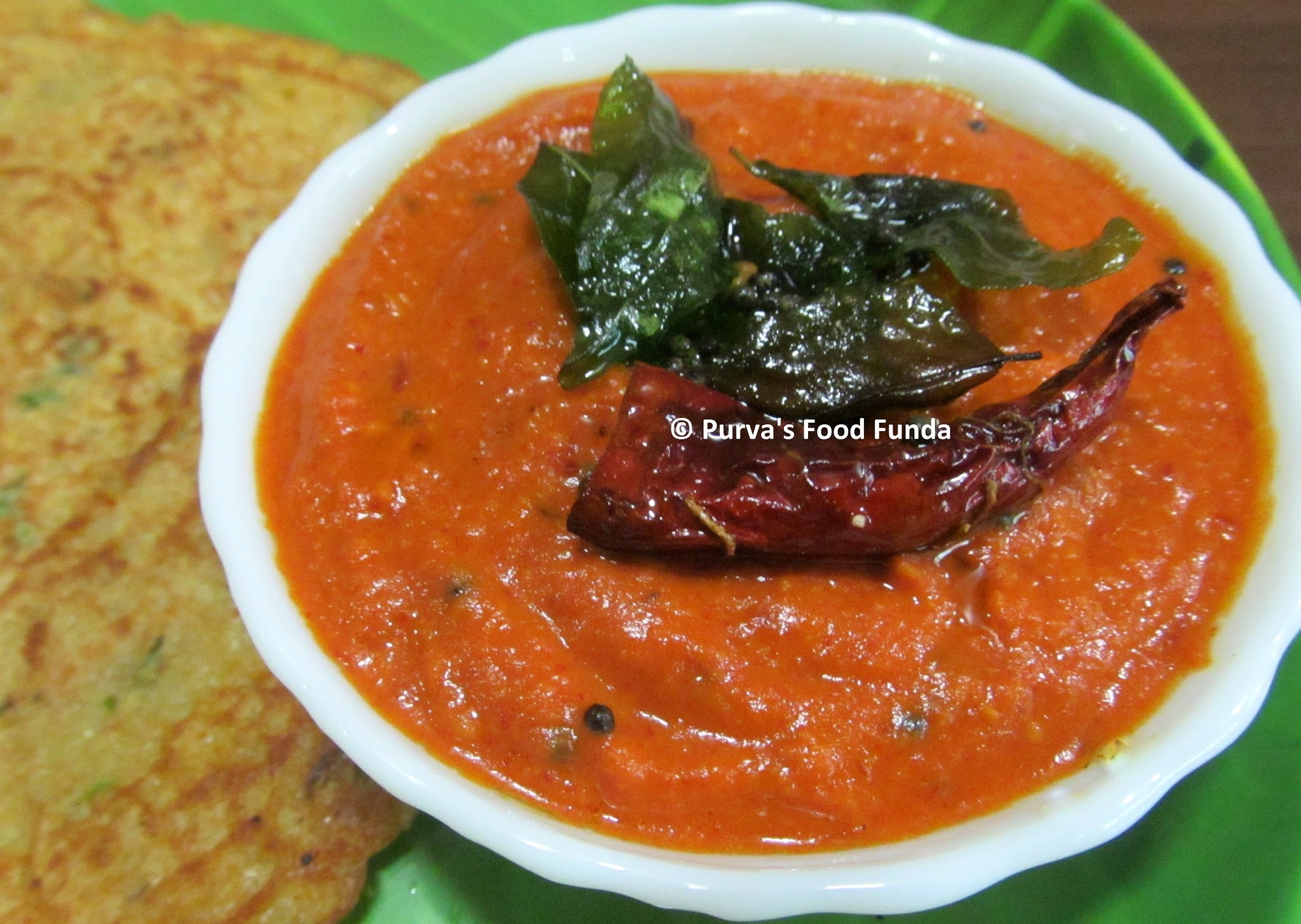 South Indian Style Tomato Chutney