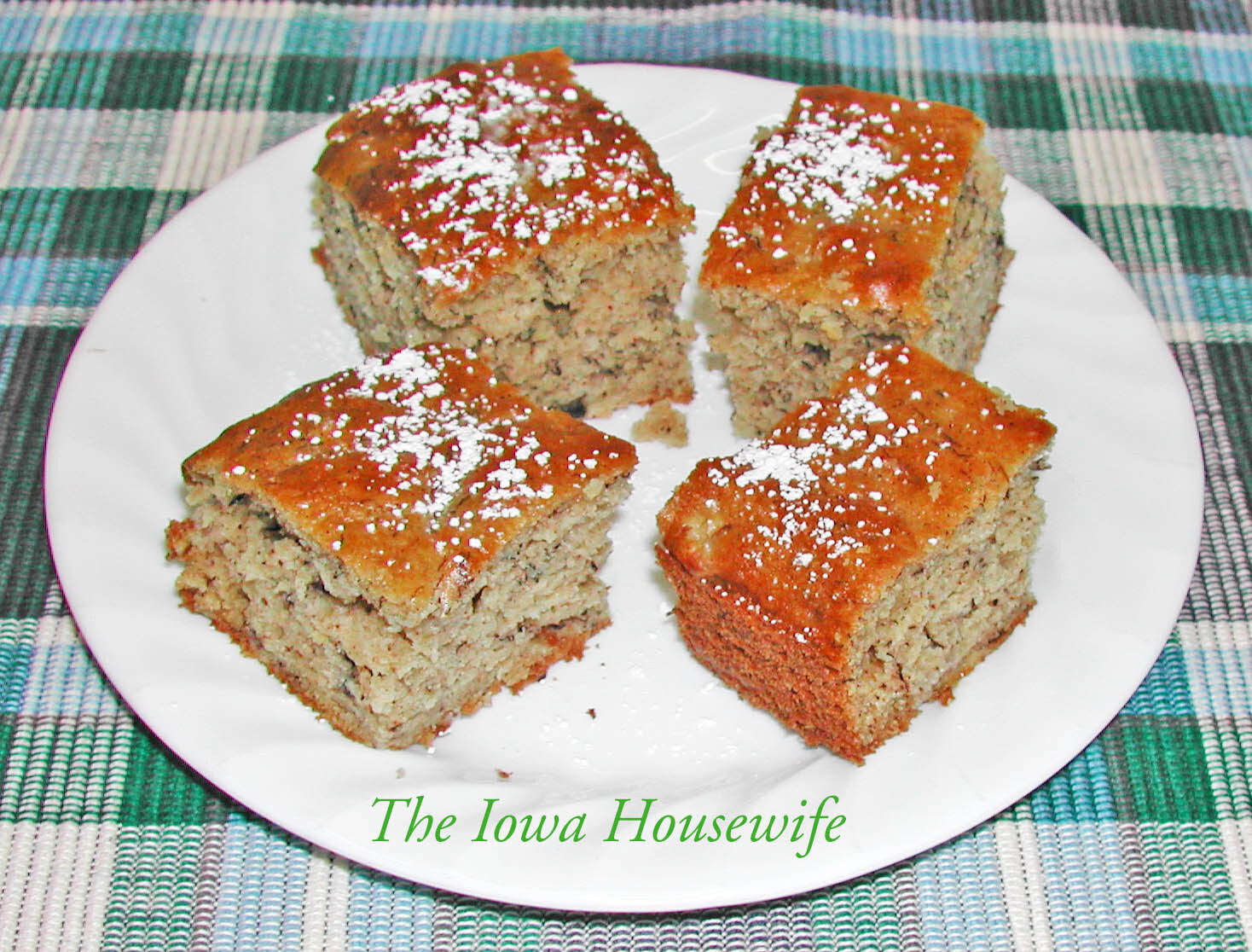 Banana Snacking Cake