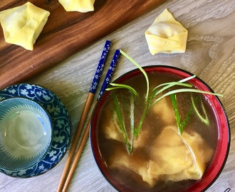 Turkey Wonton Soup
