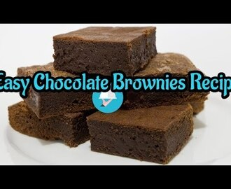 How to make Chocolate brownies/Easy Chocolate Brownies Recipe