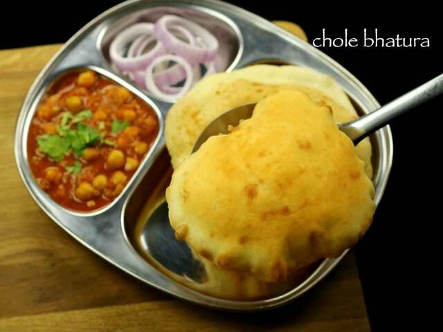 chole bhature recipe | chole bhatura recipe | chana bhatura recipe