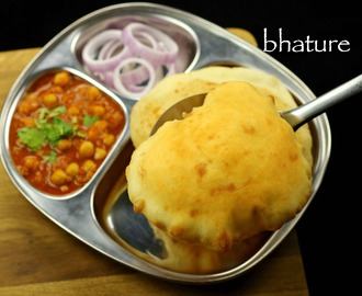 bhatura recipe | punjabi bhature recipe | bhatura for chole bhatura