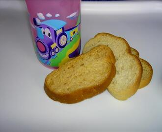 Zwieback Toast (Teething Cookies)