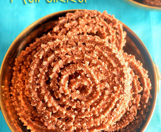 Ragi Murukku | Finger Millet Chakli Recipe - Ragi Flour Snacks | Ragi Dishes
