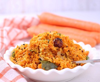 Carrot Thoran| Carrot Poriyal