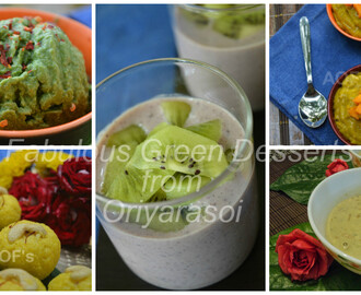 5 Fabulous 'Green' Desserts to Try This Diwali !!