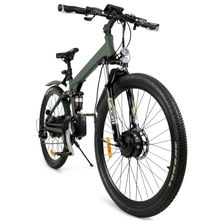 "Elcykel Mountainbike 27.5"" L5 Raptor Pro 2018 - Army green"