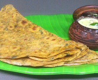 Methi Paratha Recipe | Methi Ki Roti