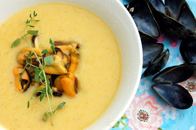 Clam Chowder - Musselsoppa