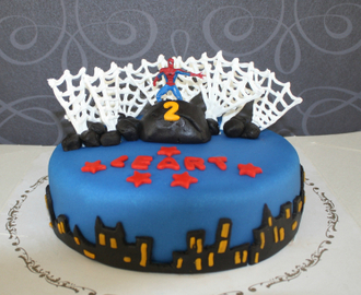Spiderman kake