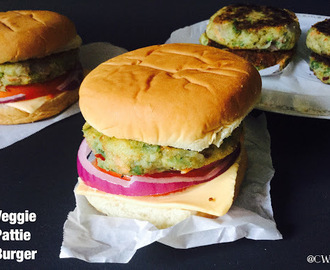 Mc Donald's Veggie Pattie Burger