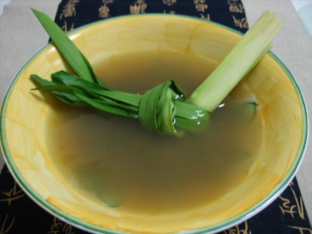 Sweet Green (Mung) Bean Soup