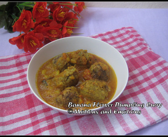 Mocha r Kofta Curry/Banana Flower Dumpling Curry