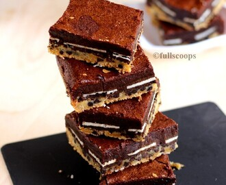 Slutty Brownies | Fudgy Brownie Recipes