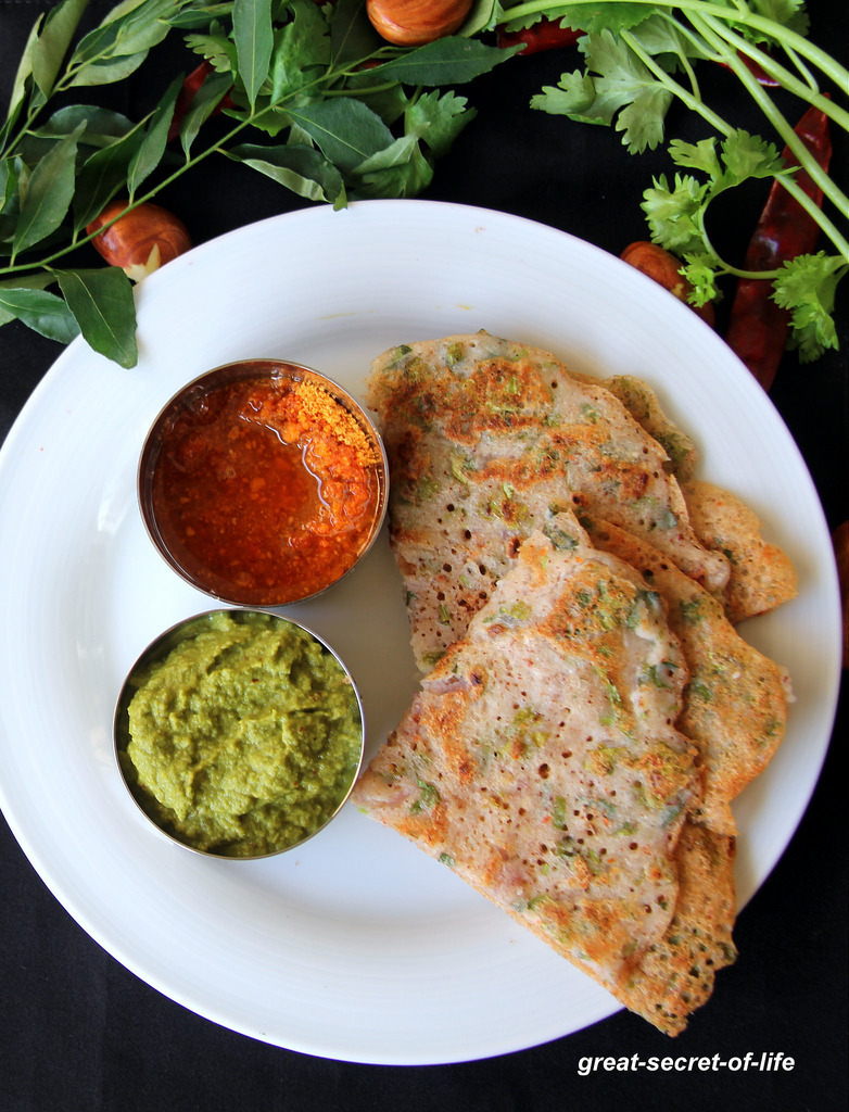 Jackfruit Seeds Dosa - Healthy dosa recipe - Healthy breakfast recipe