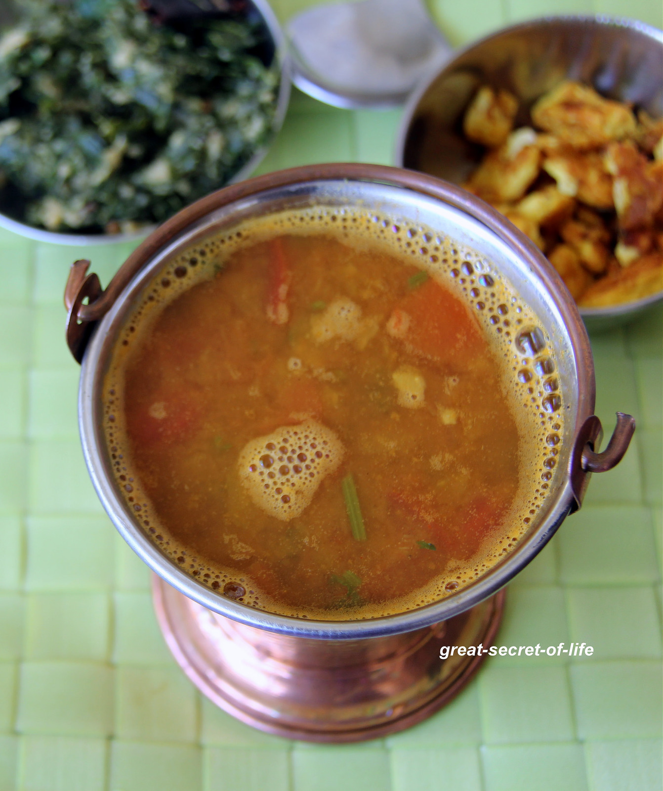 kalyana rasam - iyengar kalyana rasam - Iyengar Rasam - No Tamarind recipe - No onion and garlic recipe