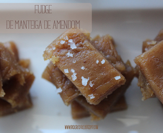 Fudge de Manteiga de Amendoim | Peanut butter Fudge