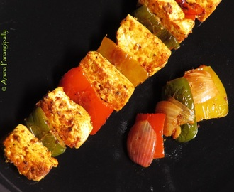Paneer Tikka (Made on a Tawa) | Recipe by Chef Harpal Singh Sokhi