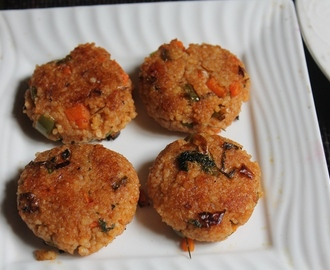Millets Tikki Recipe - Samai Tikki Recipe - Healthy After School Snacks for Kids
