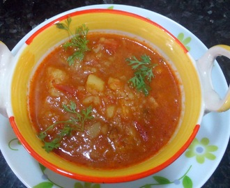 Aloo tamatar rasedar sabji|how to make aloo rasedar curry recipe