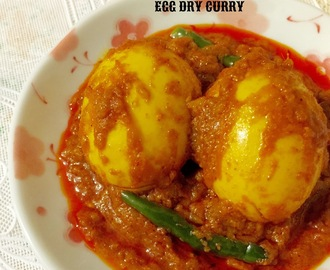 EGG DRY CURRY