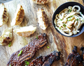 Grilled Sweet and Spicy Korean Short Ribs